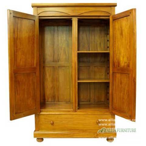 lemari pakaian 2 pintu klasik odessa