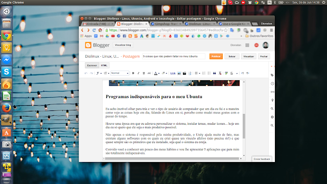 Google Chrome no Ubuntu
