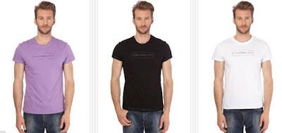 Camisetas basic de Calvin Klein