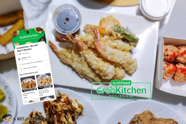 Grab Kitchen Mix and Match - Multiple Restaurants, One Delivery Fee!