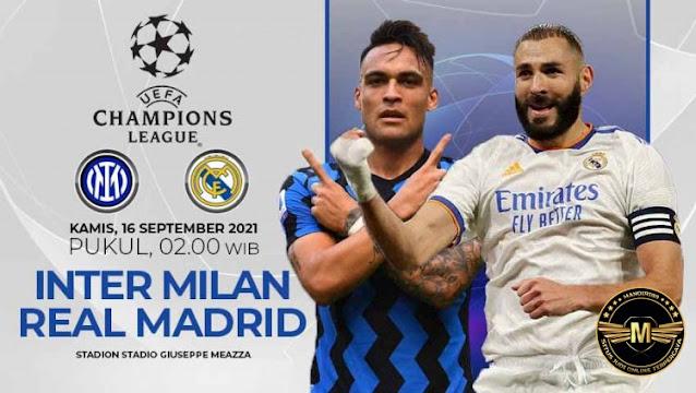 Prediksi Inter Milan Vs Real Madrid