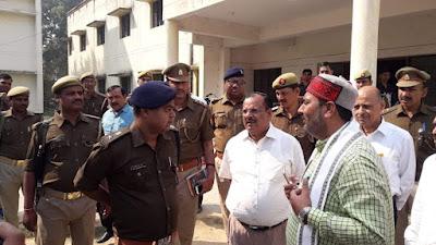 Upendra Tiwari State Minister Jaunpur Visit Uttar Pradesh News Vision