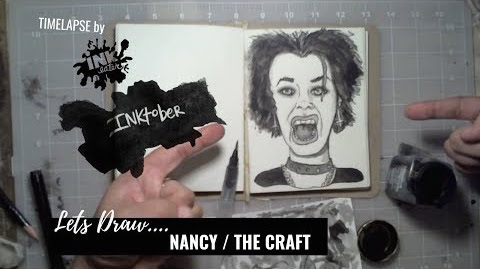 We Drew Nancy From The Craft - Inktober 2018