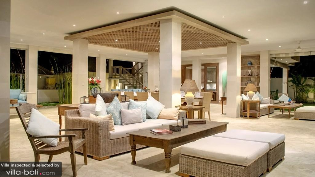Luxury Bali Villa Living Area