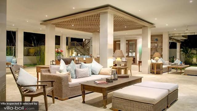 Luxury Bali Villa Living Area