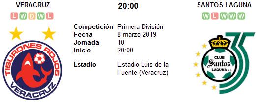 Veracruz vs Santos Laguna en VIVO