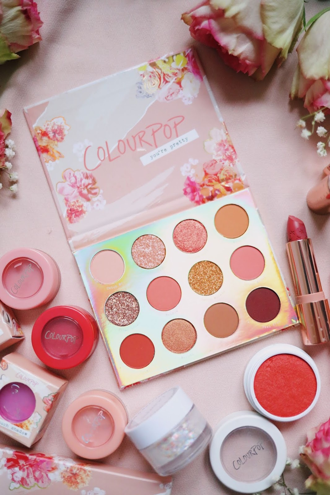 Colourpop, Sweet talk , Sweet talk palette , Spring 2019 , revue , avis , rose mademoiselle , rose mademoiselle , blog beauté, paris