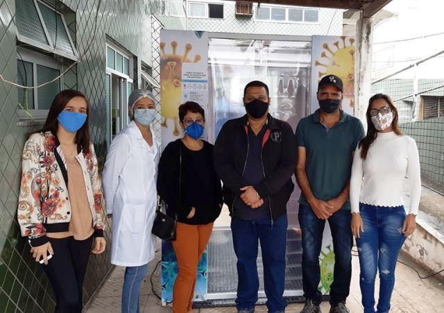 Prefeitura de Ibicoara instala túneis de desinfecção contra o Coronavírus