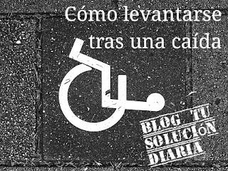 Cómo levantarse tras una caída en silla de ruedas
