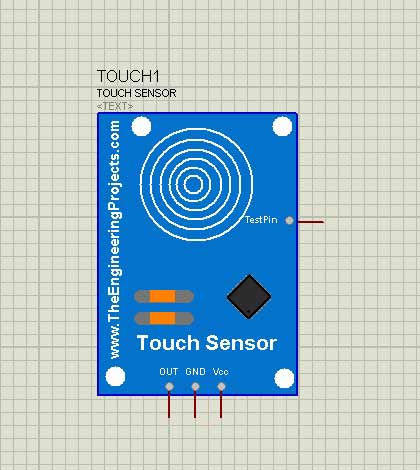How to add Capacitive Touch Sensor Library in to proteus software