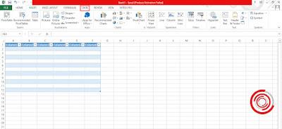 1. Langkah pertama untuk menghilangkan sort di tabel Microsoft Excel silakan kalian pilih menu Data