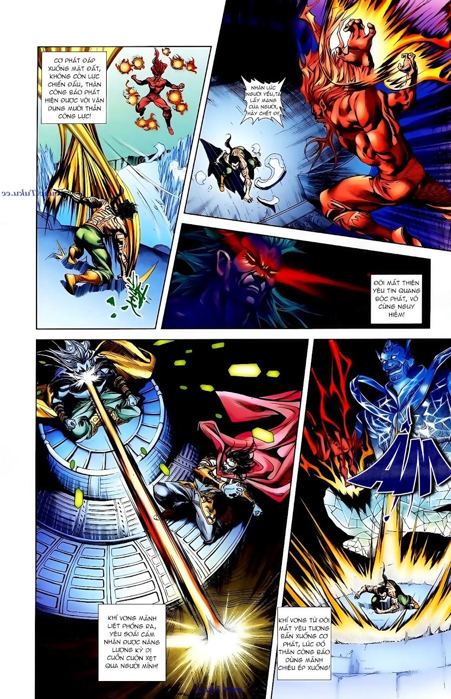 Cơ Phát Khai Chu Bản chapter 102 trang 12