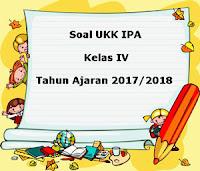 Soal UKK / UAS IPA Kelas 4 Semester 2 Terbaru Tahun Ajaran 2017/2018