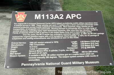 M113 Armored Personnel Carrier at Fort Indiantown Gap in Pennsylvania