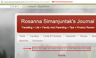 9 Cara atasi sorry the page you were looking for in this blog does not exist