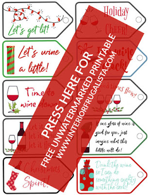 Free Printable Fun Wine Bottle Gift Tags