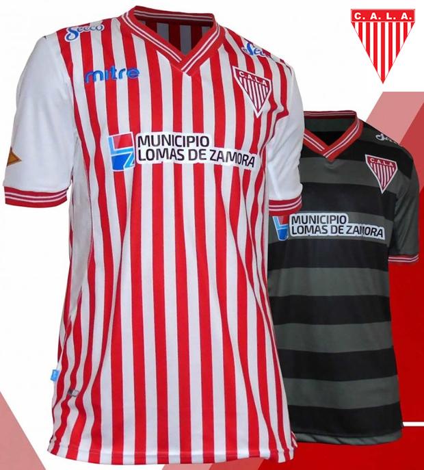 Mitre apresenta as novas camisas do Los Andes - Show de Camisas 867a13c18b89e