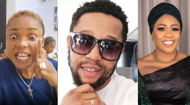 """""""Yahoo Boy' – Nollywood Actor, Sukanmi Omobolanle and troll fight dirty over Irbyabo Ojo and best friend's beef"""