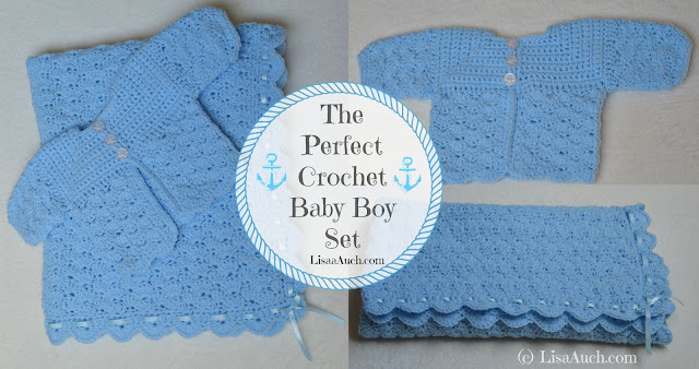 crochet patterns free babies Free baby set crochet pattern Newborn crochet baby set blanket and cardigan