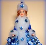 Барби - конфетный букет