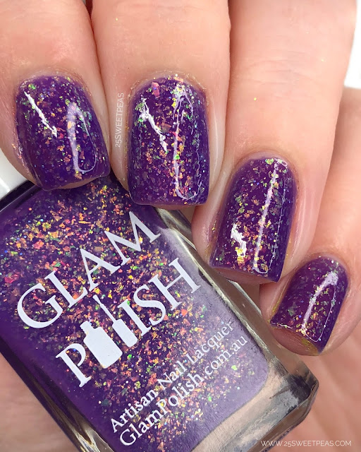 Glam Polish Tanned & Tipsy 25 Sweetpeas