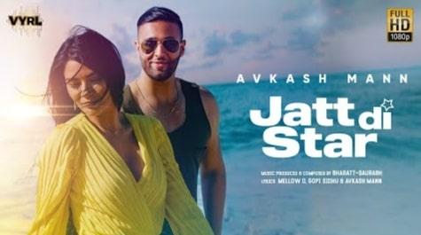 Jatt Di Star Lyrics in Hindi, Lyrics in Hindi, Lyrics in English, Avkash Mann, Punjabi Songs Lyrics in Hindi, Punjabi Lyrics in Hindi