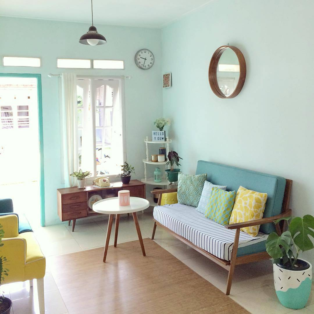 Cat Interior Ruang Tamu Kecil tips menata ruang tamu
