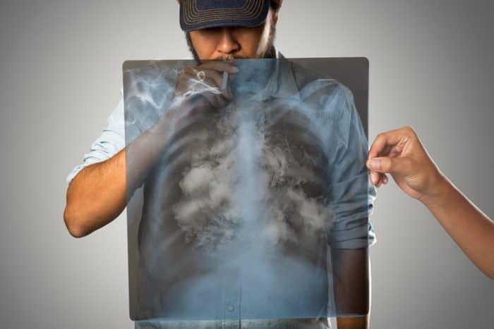 Tar dalam asap rokok