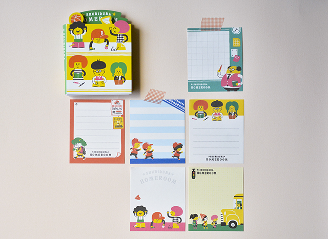 Lindo mini libro de tacos de notas aula estudiante colegio de Japón