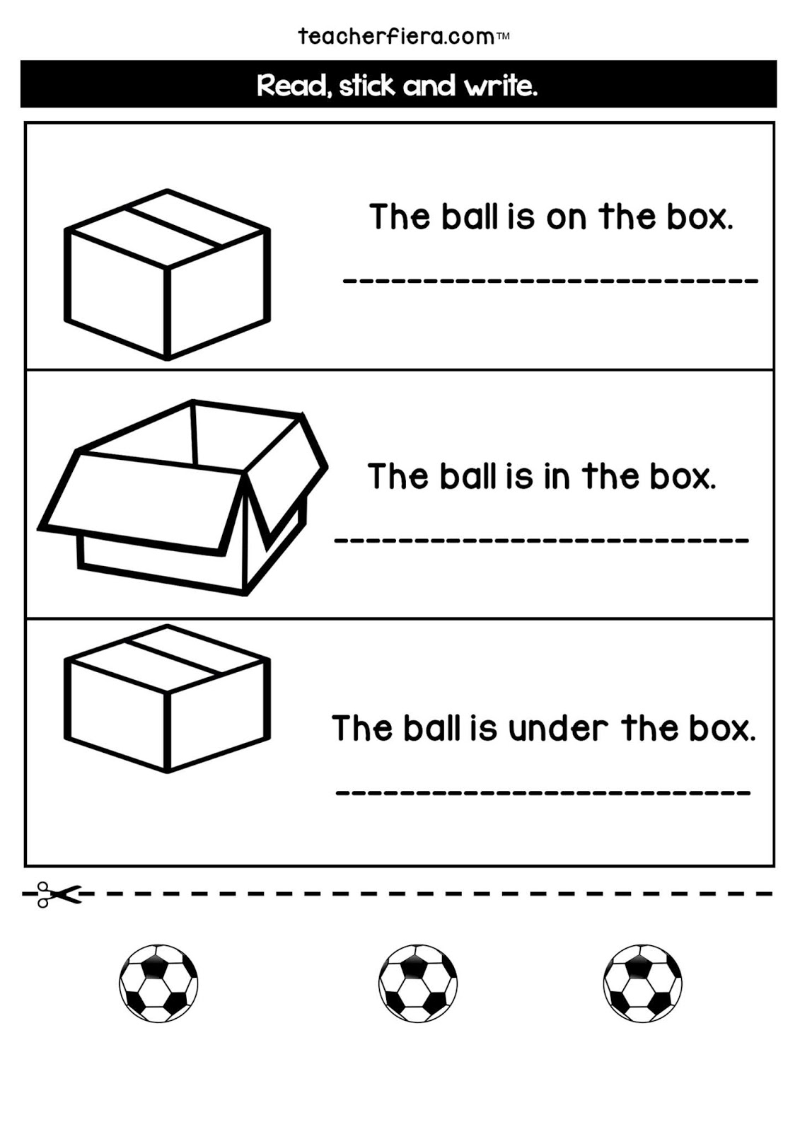 Teacherfiera Year 1 Unit 3 Additional Worksheets