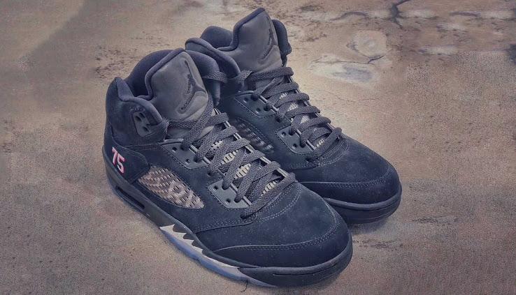 sale retailer innovative design later Nike Air Jordan 5 Paris Saint-Germain Shoes Leaked - Footy ...