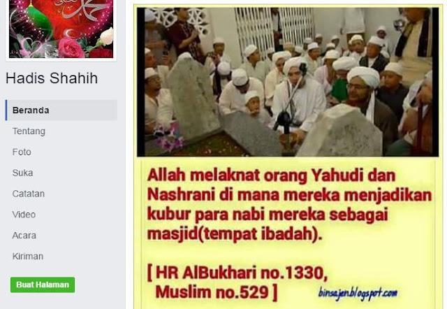 Terkait Berdo'a di Makam, Wahabi Salah dalam Memahami Hadits Shahih