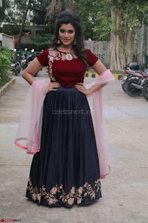 Actress Aathmika in lovely Maraoon Choli ¬  Exclusive Celebrities galleries 032.jpg