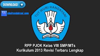 RPP PJOK Kelas 8 Kurikulum 2013 Revisi 2019 Lengkap