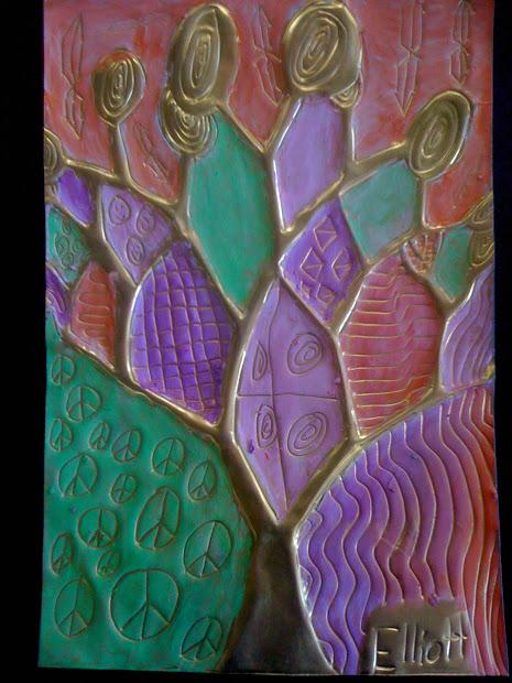 Hartlandelementaryartroom Klimt Trees Inspiration