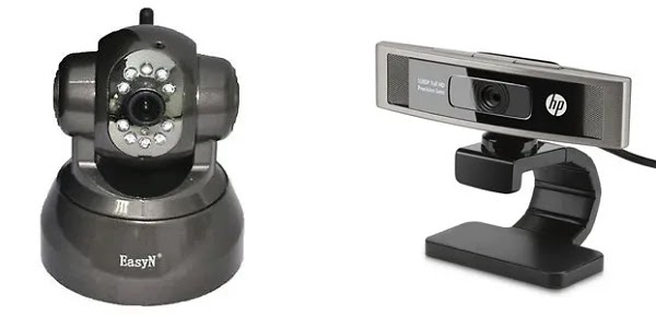 كاميرا ويب مقابل كاميرا ip