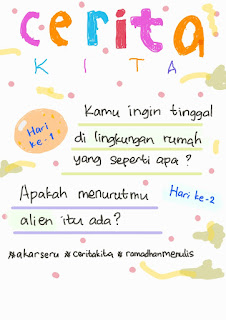 Cerita Kita 1 Ramadhan 1442H