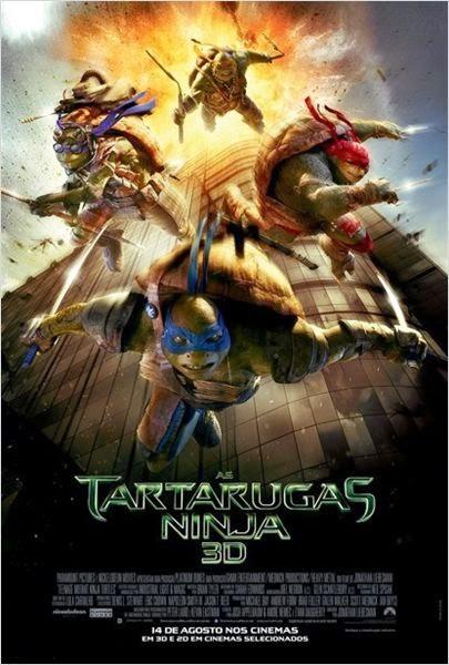 As Tartarugas Ninja 2014 - Dublado