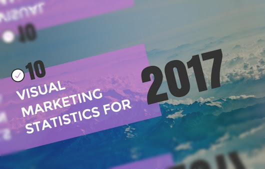10 Visual Content Marketing Trends that will Dominate Social Media in 2017 (infographic)