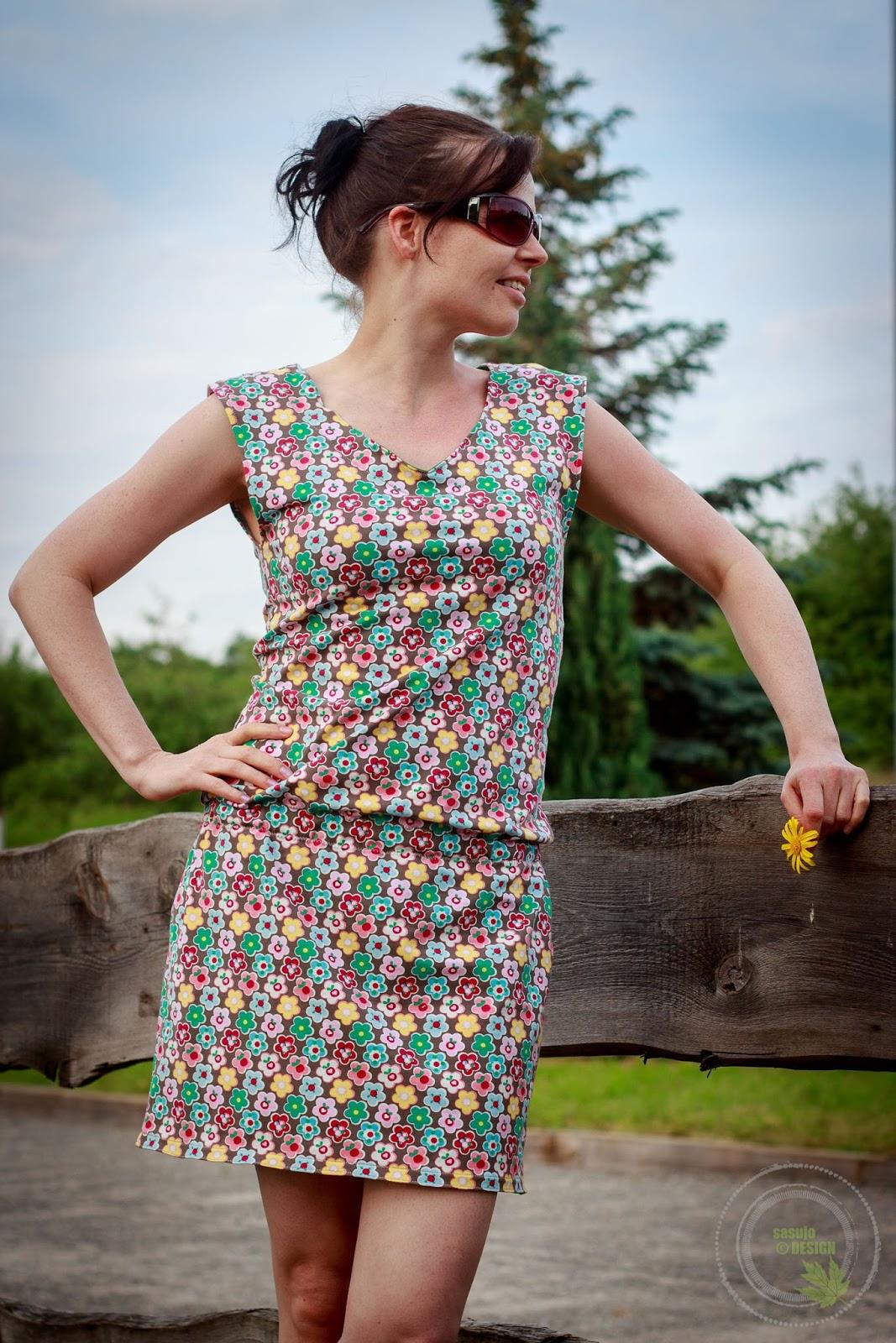 sasujo DESIGN -handmade: Mit dem Strandkleid schick essen gehen