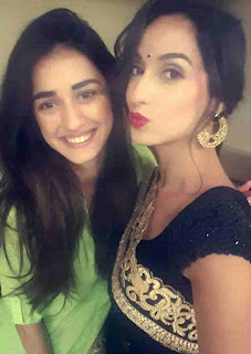 Nora Fatehi With Disha Patani