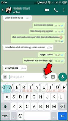 cara kirim gambar dengan kualitas tetap di whatsapp