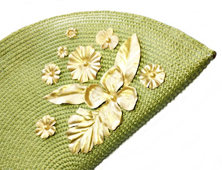 Bolso Fiesta Verde Pistacho · Pistachio Green Evening Handbag