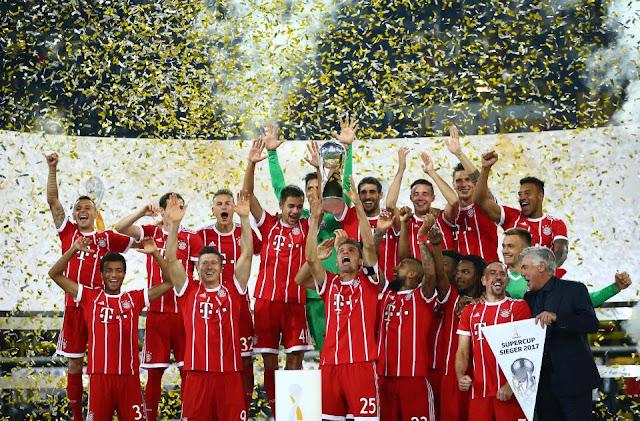 Hạ Dortmund đầy nghẹt thở, Bayern giành siêu cúp Đức 2