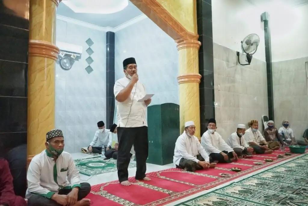 Mengawali Safari Ramadhan 1442 H, Wabup Asahan Kunjungi Masjid Nurul Iman di Desa Tanah Rakyat