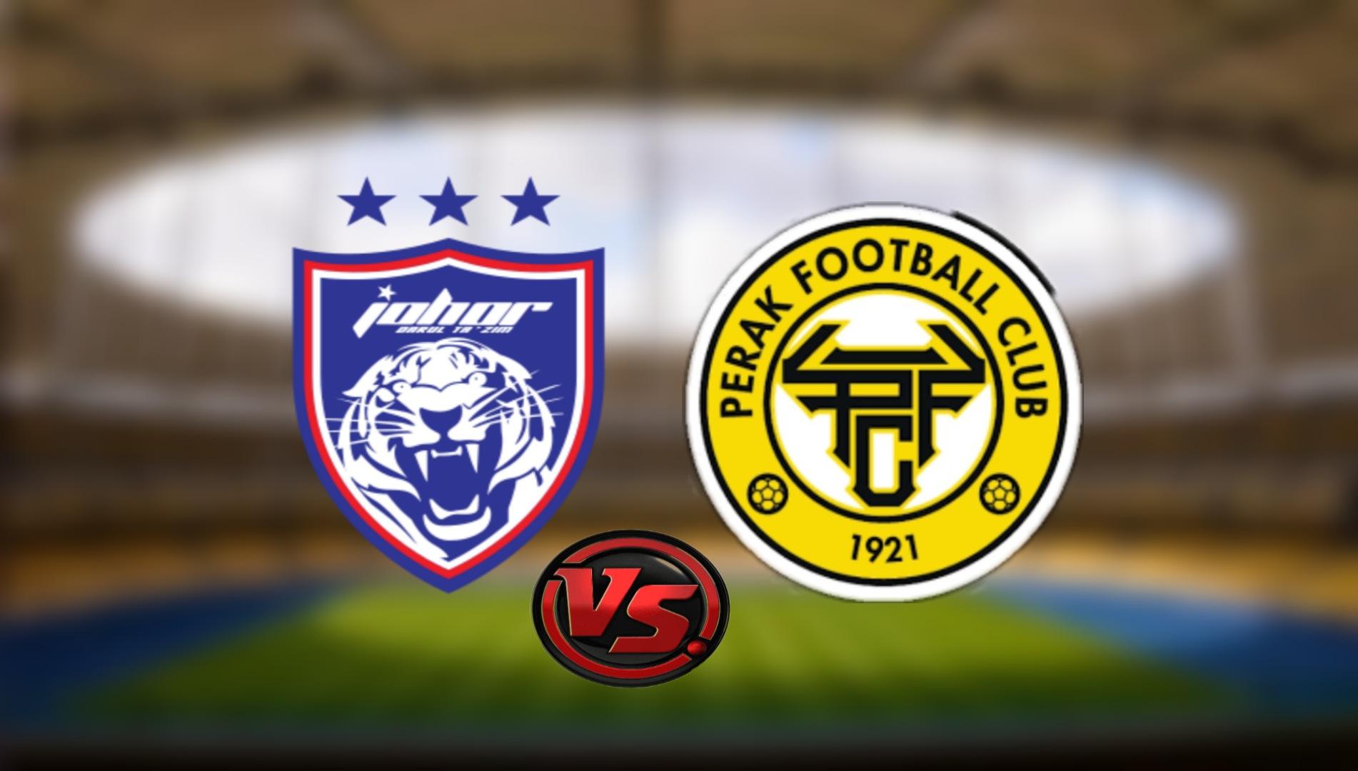 Live Streaming JDT FC vs Perak FC Liga Super 31.7.2021