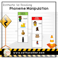 Barriers to Reading: Students who can manipulate phonemes in words can become quick decoders. These students can maintain understanding at the word level and comprehension isn't interrupted.