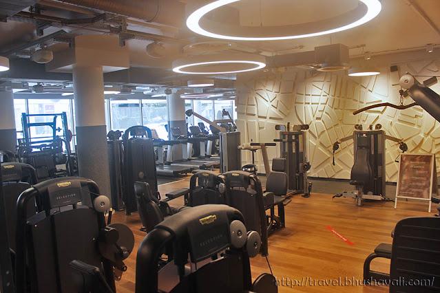 HILTON FRANKFURT CITY CENTRE Fitness First Gym