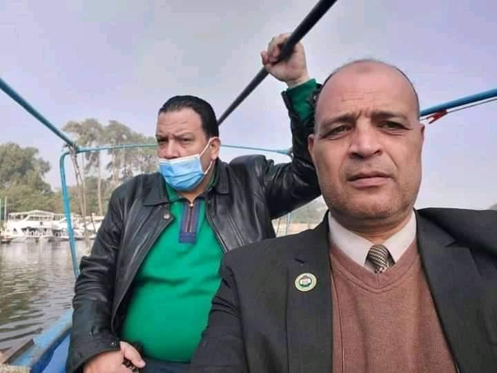 المنظمة المصرية العربية لحقوق الإنسان والتنمية تقوم بإنتشال جثة غريق بالاقصر