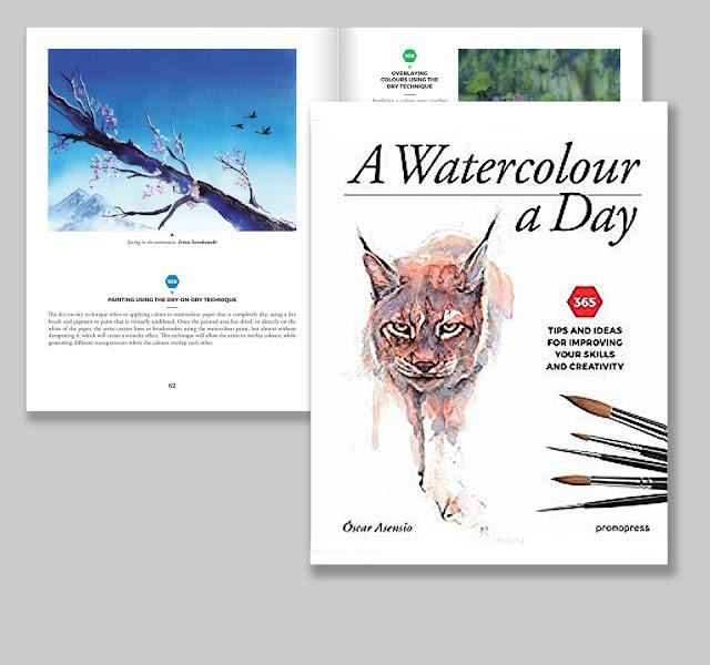 Book about watercolor techniques